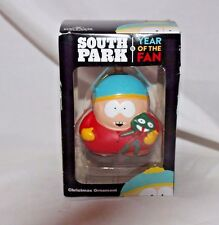SOUTH PARK YEAR OF THE FAN KURT ADLER CARTMAN CHRISTMAS ORNAMENT NEW IN BOX 2011