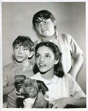BROOKE ADAMS BRIAN CORCORAN JOEL DAVISON OK CRACKERBY ORIGINAL 1966 ABC TV PHOTO