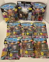Star Trek Next Generation Lot of 9 Mint Action Figure Playmates 1990's