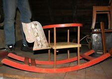 Schaukelpferd, Kinderwippe, 30er Jahre, Holz Pferdekopf, mit frischem Lack schön