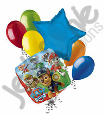 7 pc Paw Patrol Balloon Bouquet Party Decoration Birthday Nick Jr. Chase Ryder