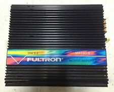 NEW Old school Fultron MX140-4 4 channel Amplifier,Rare,Vintage,NOS,SQ
