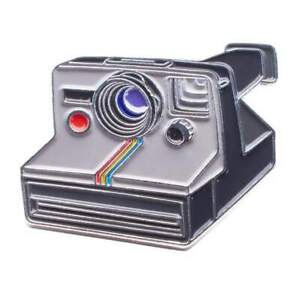 Official Exclusive Polaroid One Step SX-70 Instant Camera  Lapel Pin Badge (UK)