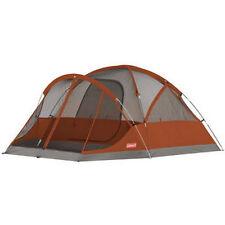 Tiendas de campaña color principal rojo para acampada y senderismo