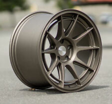 "18"" ESR SR13 Matte Bronze Wheels For Scion FRS BRZ TC 18x9.5 5x100 +35 Rims Set"