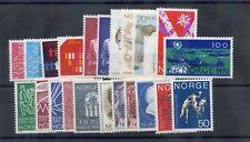 NORWAY Sc 545-67(MI BET 594//628, NO 600-01,06-07)**F-VF NH $30