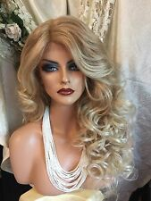 GORGEOUS Long, Light Blonde Lace Front With Deep Part, Heat Friendly Wig!