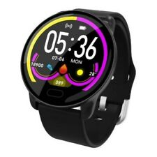Unisex Waterproof HD Fitness Smart Watch for iPhone/Android/Samsung Silicon Stra