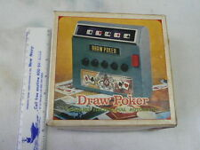 VINTAGE TOY 1971 WACO DRAW POKER GAME IN ORIGINAL BOX WORKS GREAT INSTRUCTIONS