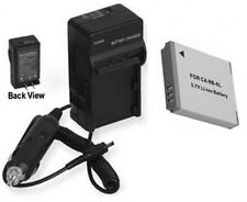 Battery + Charger for Canon PC1355 SD770 IS SD1300 SD3500 IS D10 SD1200 IS