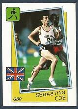 PANINI SUPERSPORT 1988/89- #007-ATHLETICS-GREAT BRITAIN-800M/1000M/1500M-SEB COE
