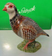 BESWICK Ceramic Birds 2010 - FRENCH PARTRIDGE