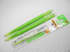 2 pen + 3 refill PILOT FRIXION/ERASER ball slim 0.38mm roller pen Lime Green