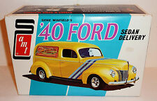 1960s AMT GENE WINFIELD'S 1940 FORD SEDAN DELIVERY KIT --> BOX ONLY <-- 9 x 6-in