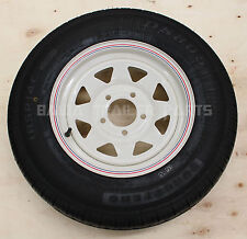 "SUNRAYSIA WHITE 14"" FORD WITH 185 LT TYRE ! Trailer Parts"