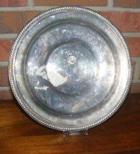 Silverplated 1883 F.B. Rogers Company Dish Tray Taunion Mass.