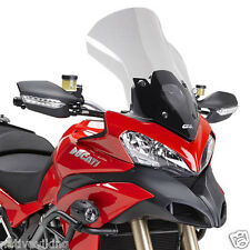 Ducati MULTISTRADA 1200 2014 givi screen D7401ST touring WINDSCREEN clear NEW