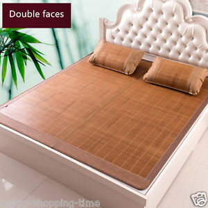 newly listed Chinese bamboo mat for bed sofa summer sleeping bed mat floor mat