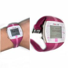 Polar FT4 Watch Pink Heart Rate Monitor Fitness Tracker $200