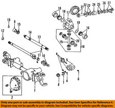 CHRYSLER OEM Front Differential-Pinion Bearing J8126499