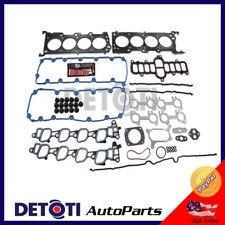 Head Gasket Set Kit Fix For 00-04 Ford F250 Super Duty XL XLT 5.4L V8 TRITON MLS