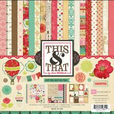 Echo Park THIS AND THAT: GRACEFUL 12x12 Scrapbook Collection Kit