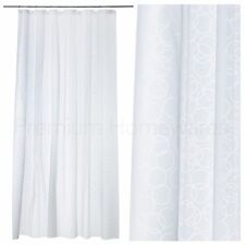 IKEA INNAREN White Shower Curtain 180x180cm