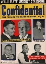 Confidential July 1955 Clark Gable Marlene Dietrich Billy Daniels 070519DBE2