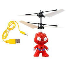 Remote Control RC Spider Man Aircraft Flying Minion Helicopter Plane Toy Boy