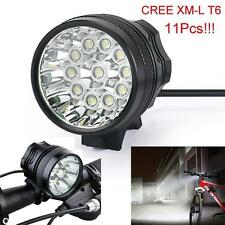 28000Lm 11x CREE T6 LED 3Modes Bicycle Lamp Bike Light Headlight Cycling Torch r