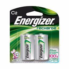 Energizer C2 Rechargeable Size C Batteries, 2-Count  - NiMH Recharge (NH35BP-2)