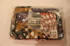 Vera Bradley Little Hipster Bag 100 Cotton Painted Feathers Pattern