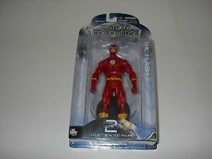 DC DIRECT HISTORY OF THE DC UNIVERSE THE FLASH SERIES 2 ACTION FIGURE NEW