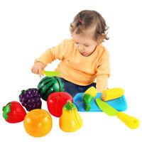 Modèle De Légumes De Fruits Set De Coupe Jeu De Rôle Jouet De Cuisine