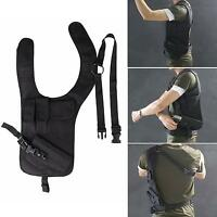 Tactical Hidden Underarm Shoulder Holster Single Bag with Additional Pouch