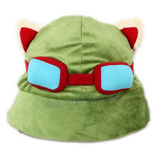 New Unisex Cosplay Green League of Legends LOL Teemo Game Video Merchandise Hat