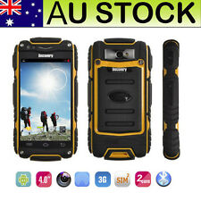 3G Rugged V8 Android Smartphone Unlocked Tough Shockproof Dual Core 4.0'' Mobile