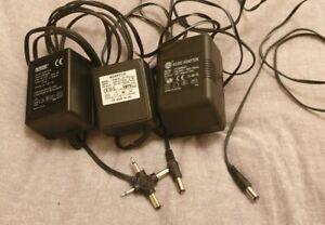 AC DC adaptors Job Lot Various 12V 9V