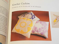 Japanese Quilt Pattern Hawaiian Kowhai Cushion Cathedral Window Quilting MORE