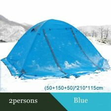 Double-layers Outdoor Breathable Tents With Snow Skirt Four-season One Room Tent