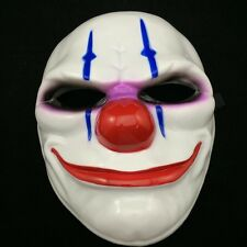Game Payday 2 Chains Hoxton Wolf  Dallas Costume Dress Props Cosplay Party Mask