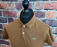 Lacoste Sport Lacoste Brown Polo Shirt - Size 3 - Small