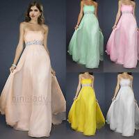 formelle nouveau longue robe de mariée soirée bal Cocktail demoiselle d'honneur