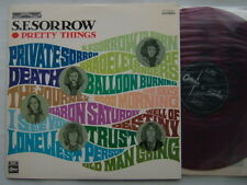 RED VINYL / PRETTY THINGS S.F. SORROW / DIFF COVER SUPERB COPY