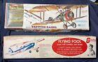Vintage Sterling Flying Fool Parts,Comet Sopwith Camel,Parts Kits,Balsa Bi-Plane