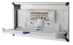Foundations Recessed Baby Diaper Changing Station 5240259 Bathroom Changer Fold
