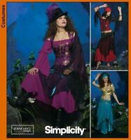 Simplicity Sewing Pattern 4484 Misses Gypsy Belly Dancer Costumes Size 14-20