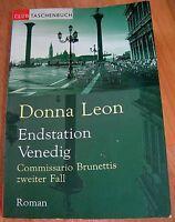 "Dachbodenfund * Buch :"" Endstation Venedig "" , v. Donna Leon"