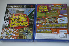 Junior Board Games (Sony PlayStation 2, 2007, DVD-Box)