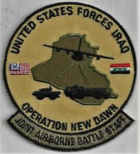 USAF JOINT AIRBORNE BATTLE STAFF  PATCH   OND   ABOUT 3 1/2 INCHES TALL    COLOR